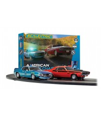 AMERICAN POLICE CHASE AMC JAVELIN DODGE CHALLENGER