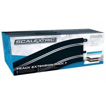 TRACK EXTENSION PACK 7 4 X 350MM STR. 4 X RAD. 3 CURVE 22.5°