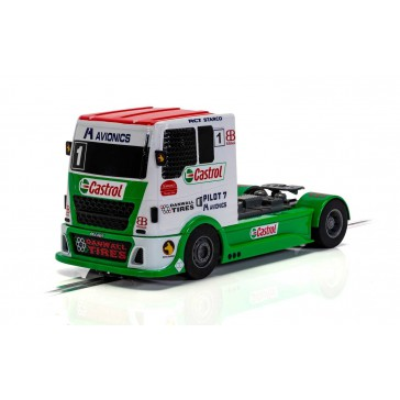 RACING TRUCK - RED & GREEN & WHITE (9/20) *
