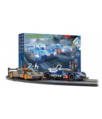 ARC PRO 24H LE MANS GINETTA LMP1 BLUE AND GINETTA LMP1 W/OR