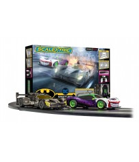 SCALEXTRIC SPARK PLUG BATMAN VS JOKER RACE SET (9/20) *