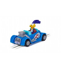 MICRO SCALEXTRIC - LOONEY TUNES ROAD RUNNER CAR