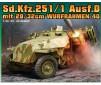SD.KFZ.251/1 AUSF.D MIT 28/32CM WURFRAHMEN 40