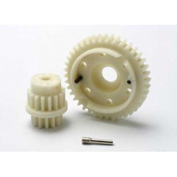 Gear set, 2-speed close ratio (2nd speed gear 40T, 13T-16T i