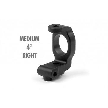 T2 Composite C-Hub Right 4 deg. Deg. Medium Rubber-Spec