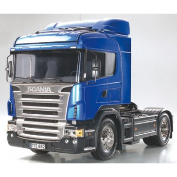 Scania R470 RTR bleu