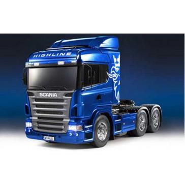 Scania R620 RTR bleu