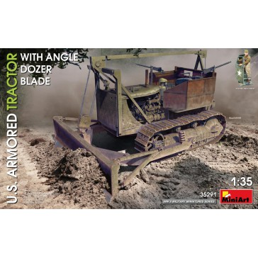 U.S. Armored Tractor with Angle Dozer Blade 1/35