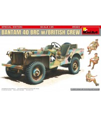 Bantam 40 BRC with British Crew 1/35