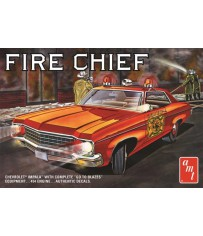 Chevy Impala Fire Chief 1/25