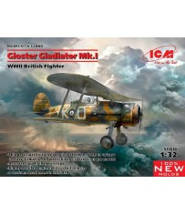 Gloster Gladiator Mk.I WWII British Fighter 1/32