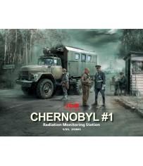 Chernobyl Radiation Monitoring Station 1/35