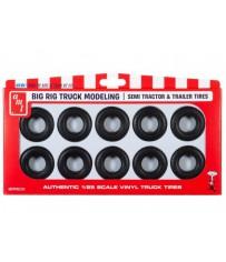 Big Rig Truck Tire Parts Pack 1/25