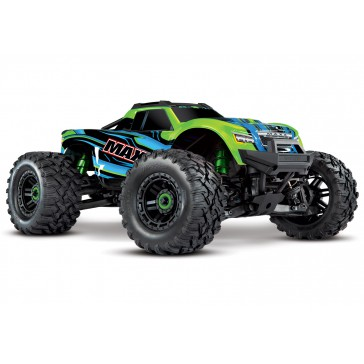 Maxx 1/10 Scale 4WD Brushless Monster Truck, VXL-4S, TQi - GRNX