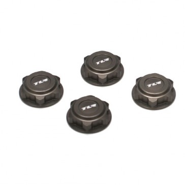 Covered 17mm Wheel Nuts, Alum: 8B/8T 2.0