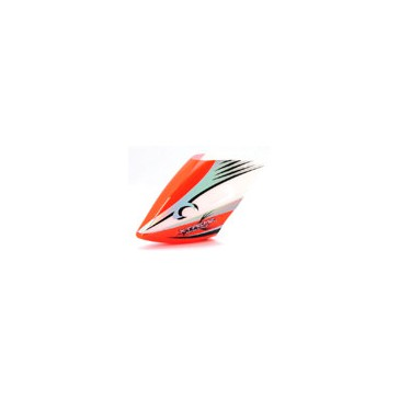 DISC.. Pre-Painted Canopy (Type A) ORANGE (w/ Tail Fin Sticker) (MPCX