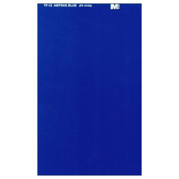 MICROSCALE Amitrak blue trim film