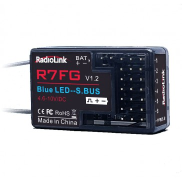 R7FG 2.4Ghz 6Ch gyro integrated Receiver for RC4GS, RC6GS, T8FB & T8S