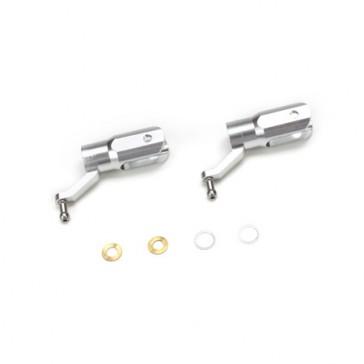 B450 X -Set de pieds de pales principales aluminium