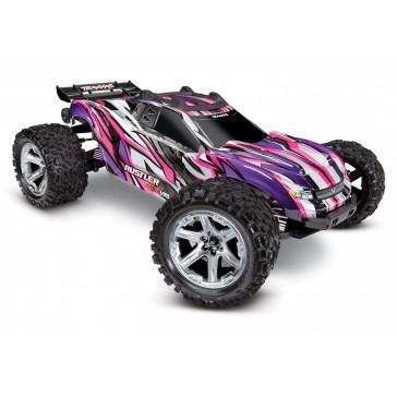 Rustler 4X4 VXL TQi TSM (no battery/charger),Pink