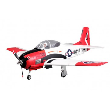 Plane 1400MM T-28 (V4) Red PNP kit