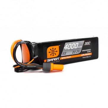 4000mAh 6S 22.2V Smart LiPo Battery 30C: IC5