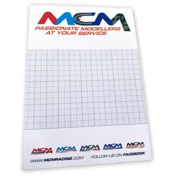 Bloc-notes A6 50pages - MCM