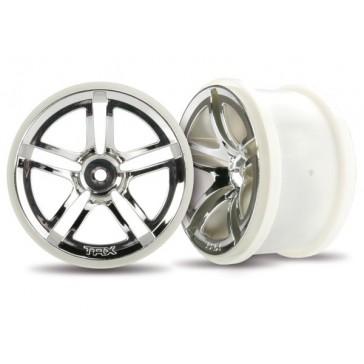 Wheels, Jato Twin-Spoke 2.8 (chrome) (electric rear) (2)