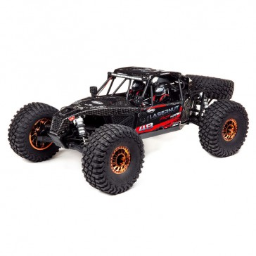 Lasernut U4 Black, SMART ESC: 1/10 4WD RTR