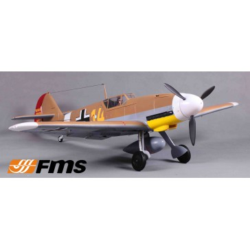 Plane 1400mm BF109-F (Brown) PNP kit