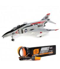 F-4 Phantom II 80mm EDF PNP + Spektrum SPMX40006S30