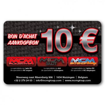 Chèque cadeau MCM Group de 10eur