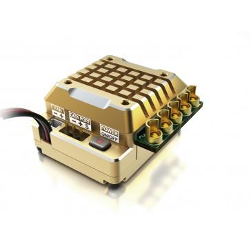 TS120 upd ver. w/ gold alum. Case 1/10 Brushless ESC 120Amp