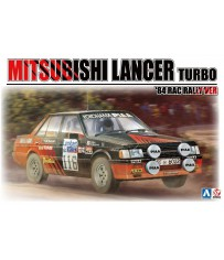 1/24 MITSUBISHI LANCER TURBO '84 RAC RALLY