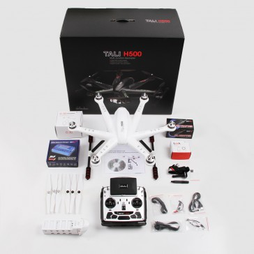DISC.. TALI H500 FPV with DEVO F12E radio (m1), gimbal & Ilook+