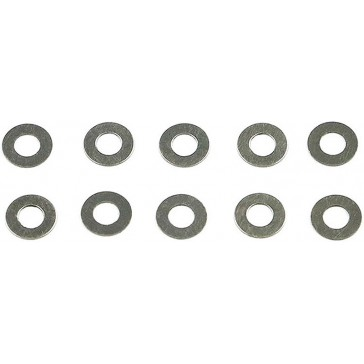 Stainless Steel Shims 3x6x0.2 (10)