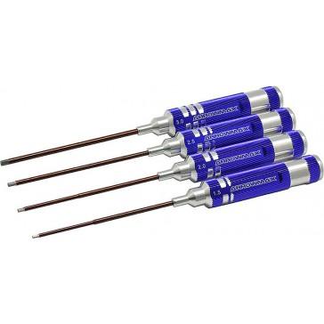 Allen Wrench Set 1.5 2.0 2.5 & 3.0x120mm - 4 Pcs