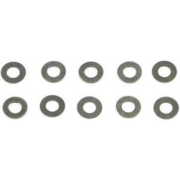 Stainless Steel Shims 3x6x0.05 (10)