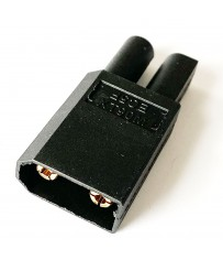 "Adaptateur ""One piece"" XT90 device (M) vers EC5 battery (F)"