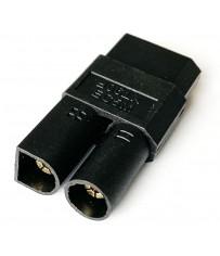 "Adaptateur ""One piece"" EC5 device (M) vers XT90 (F)"