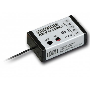 Receiver RX-5 M-LINK ID 1, 2.4 GHz