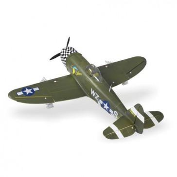 DISC.. Avion 1400mm : P47 (vert) kit PNP