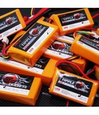DISC.. Batterie Lipo 3000mha 18.5V 20C (140*46*29 - 440g)