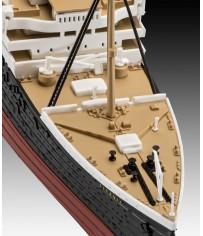 RMS Titanic + 3D Puzzle (Iceberg) 1:600