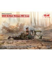 WWI British Vickers MG Crew 1/35