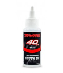 Oil, shock (40 wt, 500 cSt, 60cc) (silicone)