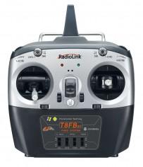 T8FB BT (bluetooth) 8-channel radio (Mode 2) with R8EF Receiver