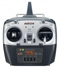 T8FB BT (bluetooth) 8-channel radio (Mode 1) with R8EF Receiver