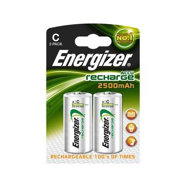 2 Accus C Energizer 2500 mha