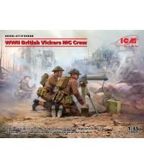 WWII British Vickers MG Crew 1/35